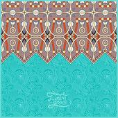 Modello marocchino con posto per il vostro testo — Vettoriale Stock
