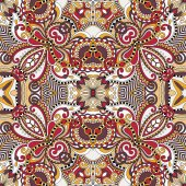Seamless geometry vintage pattern, ethnic style ornamental backg — Stock Vector