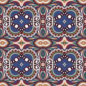 Vintage padrão de geometria perfeita, backg ornamentais estilo étnico — Vetor de Stock