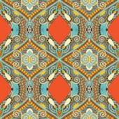 Dikişsiz geometri vintage desen, etnik stil süs backg — Stok Vektör