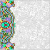 Vintage floral background for your design — Stock Vector