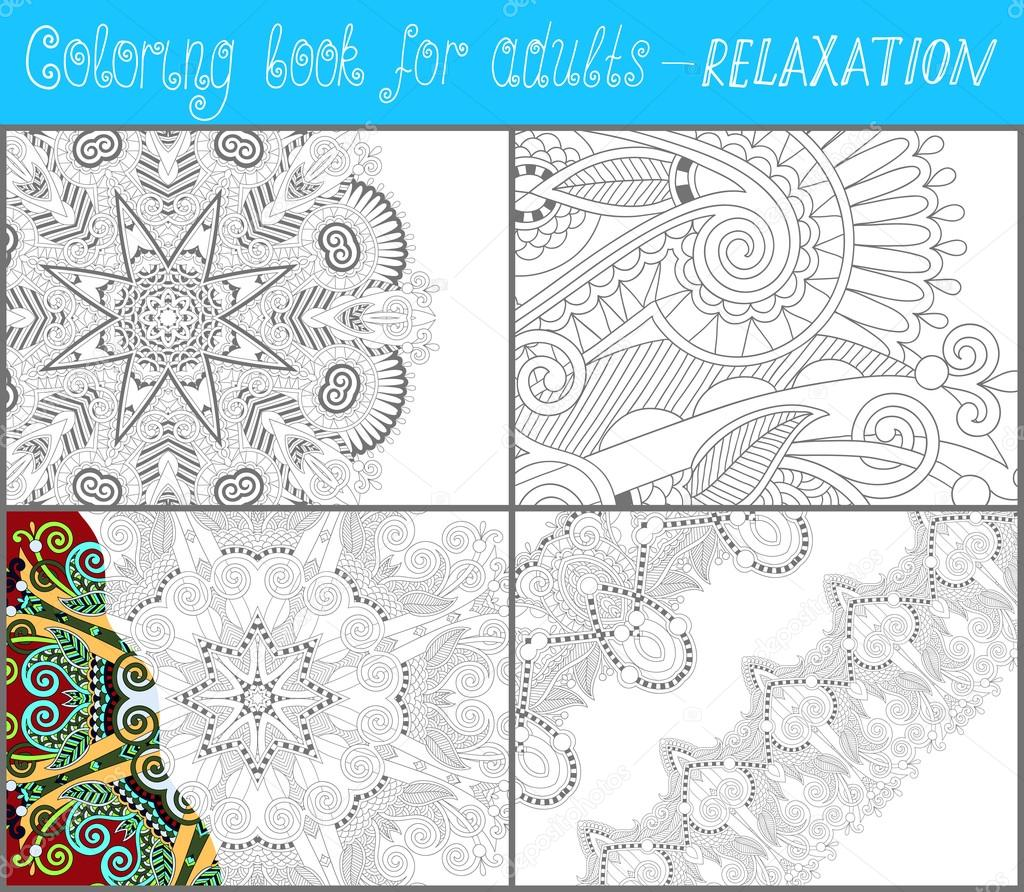 Twitter facebook pinterest google plus for Unique coloring pages for adults