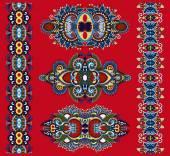 Ornamental ethnic decorative floral adornment — Stock Vector