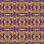 Authentic seamless floral geometric pattern, ethnic ukrainian ca — Stock Vector #73731227