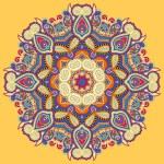 Beautiful vintage circular pattern of arabesques — Stock Vector #75842133