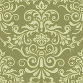 Vector damask seamless pattern element — Stock Vector