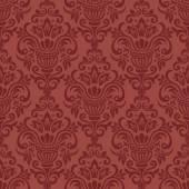 Vector. Seamless damask pattern — Stock Vector