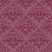Seamless pattern with damask ornament — Wektor stockowy