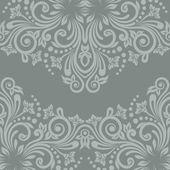 Floral rétro modèle sans couture — Vecteur