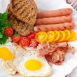 English breakfast — Stock Photo #52782713