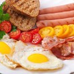 English breakfast — Stock Photo #52782719