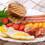 English breakfast — Stock Photo #52782723