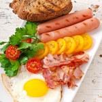 English breakfast — Stock Photo #52782741