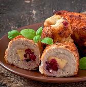 Chicken rolls — Stock Photo