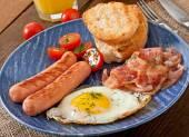 Leckeres englisches Frühstück — Stockfoto