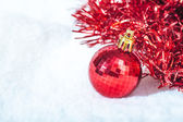 Old Christmas decorations — Stock Photo