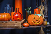 Set of objects to celebrate halloween — Foto de Stock