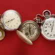 Pocket vintage watch and stopwatch — Stock Photo #57800951