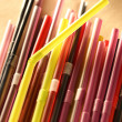 Colorful cocktail straws — Stock Photo #57801025