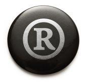 Registered trademark sign — Stock Photo