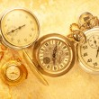 Vintage watch and stopwatch — Stock Photo #63455405