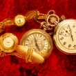 Vintage watch and stopwatch — Stock Photo #63456085