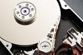 Hard disk's internal mechanism — Stock Photo