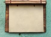 Blank paper notepad — Stock Photo
