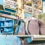 Machine shop of metallurgical works — Stock Photo #65788377