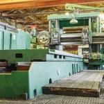 Machine shop of metallurgical works — Stock Photo #65788435