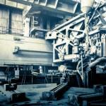 Machine shop of metallurgical works — Stock Photo #65788625