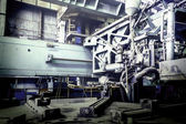 Machine shop of metallurgical works — Photo