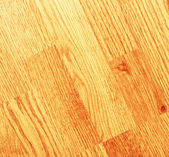 Clean laminated wooden floor — Stock Photo