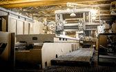 Machine shop of metallurgical works — Stock Photo