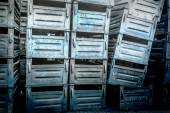 Old metal boxes  — Stock Photo