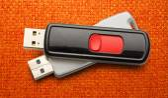 Usb flash drives — Стоковое фото