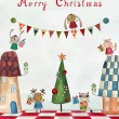 Christmas greeting card — Stock Photo #56797995