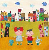 Illustration for children — Stock Photo