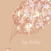 Happy Birthday! — Stock Vector