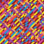 Geometric pattern abstract art — Stock Vector