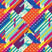 Geometric pattern abstract pantone — Vector de stock