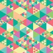 Geometric pattern pastels — Stock Vector