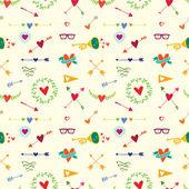 Hearts and arrows — Stock Vector