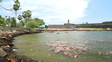 Galle fort — Stock Video