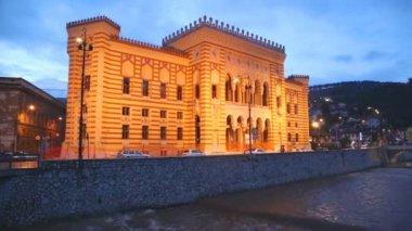 Nationale et la bibliothèque universitaire de Bosnie-Herzégovine — Vidéo