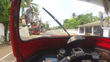 View from tuktuk — Vídeo de stock