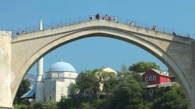 The Old Bridge — Stock Video