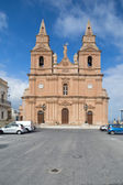 Mellieha Parish Church — Stock Photo
