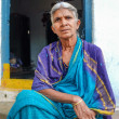 Elderly Indian woman — Stock Photo #71457605