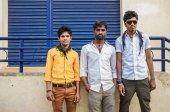 Three indian men — Stock Photo
